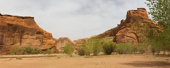"Junction of Canyon del Muerto and Canyon de Chelly (so-called ""First Junction"")."