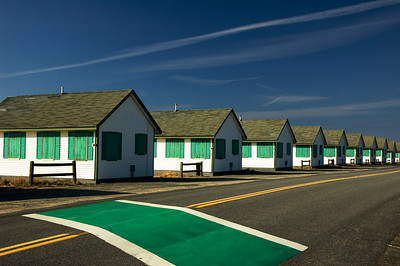 Shacks-Desolate and Green.  Truro, MA