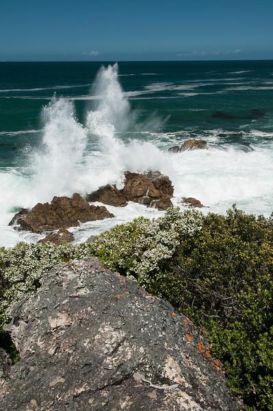 Hermanus Breaking Waves