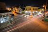 Nighttime in St Johns, Antigua.