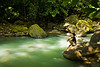 Lazy River, Three Rivers area, Dominica.