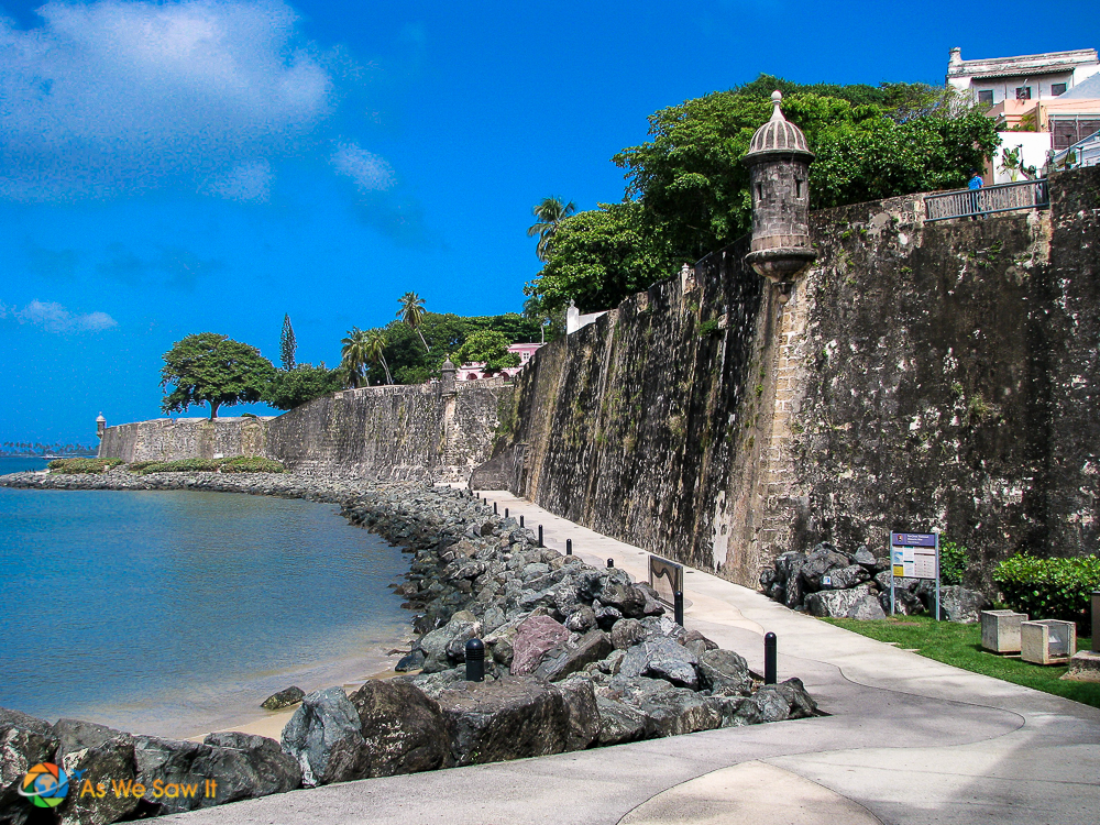 Fortification wall of Old San Juan