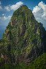 """""""Visions of St. Lucia"""" II, Petit Piton."""