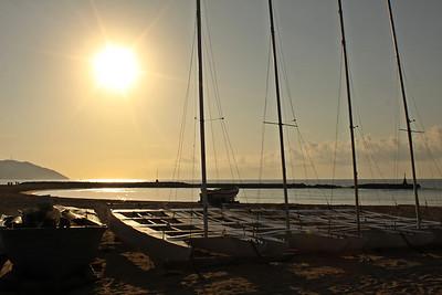 Sitges sunrise