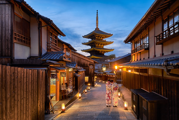 Yasaka Pagoda – Gion District, Kyoto, Japan