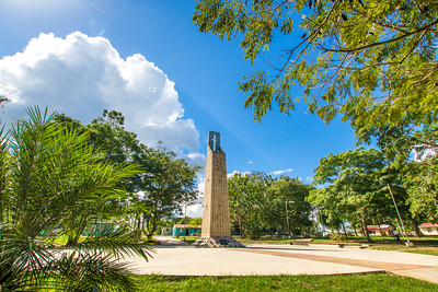 Monumento al Centenario, Benque, Cayo