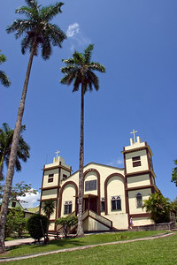 Sacred Heart Church in San Ignacio, Cayo, Belize.