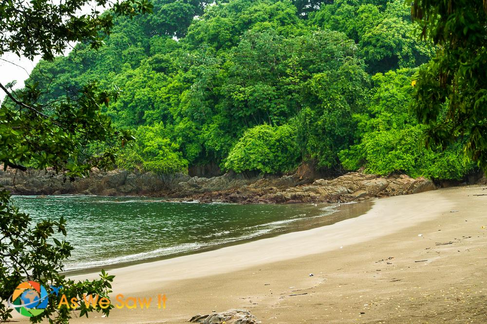 A little beach on Isla Culebra (Snake Island).