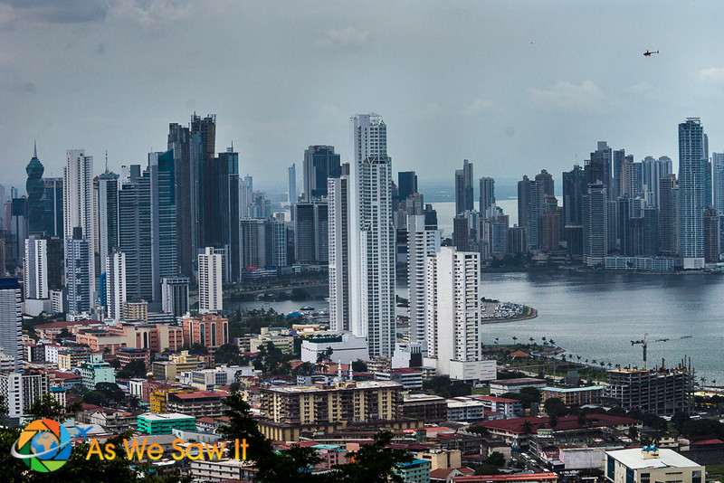 Panama City from Ancon Hill