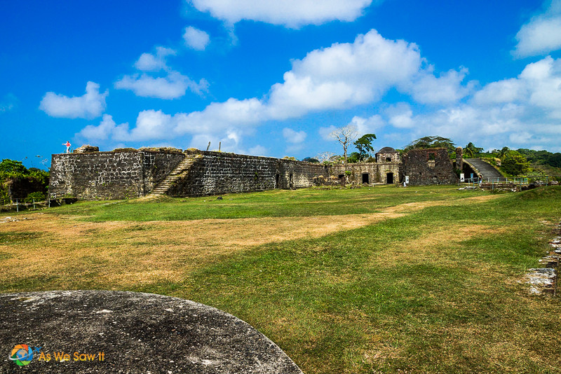 fort san lorenze day trip has spectacular views of the caribbean sea