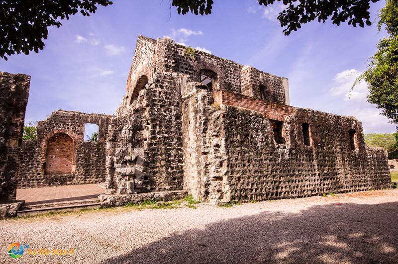 Convent ruins in Panama Viejo.
