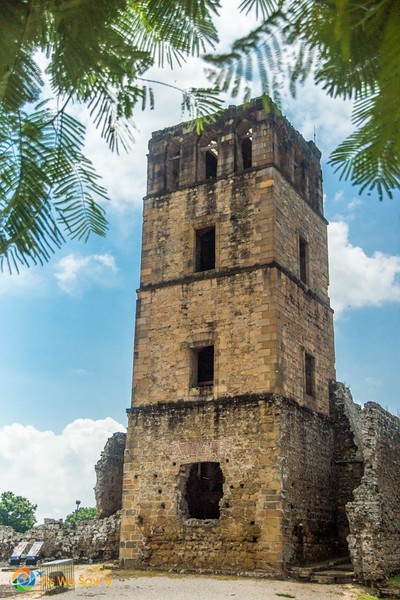 Cathedral Tower at Panama Viejo