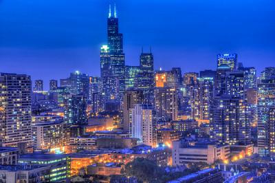 Chicago Skyline-001