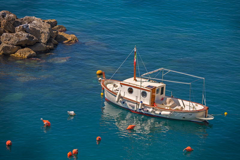 Mediterranean Fishing Boat