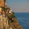 Evening light over Manarola