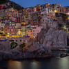 Night Time in Manarola
