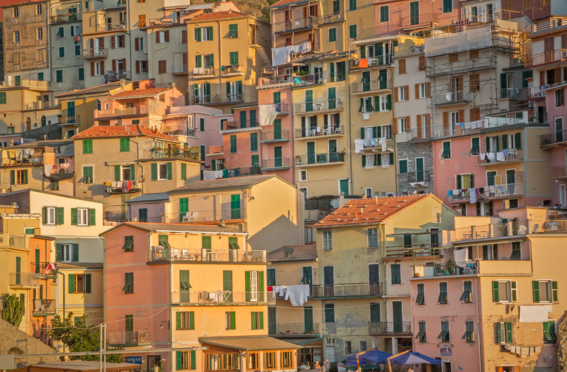Homes in Manarola