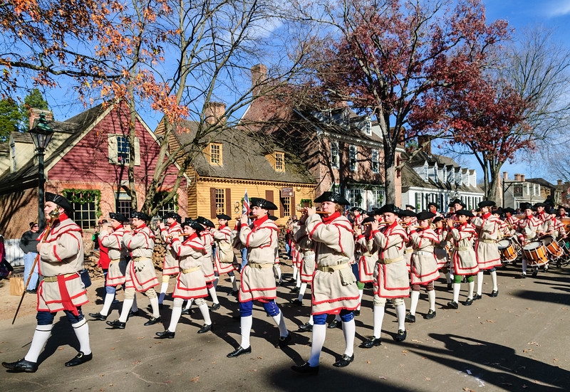 Fife and Drum Corps on Parade