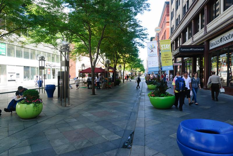 Sixteenth Street Pedestrian Mall