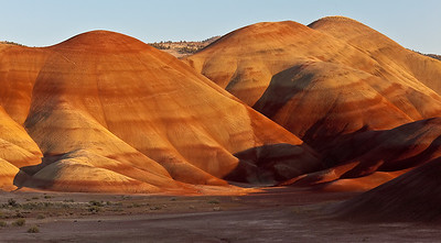 Magic hour is an understatement, Painted Hills