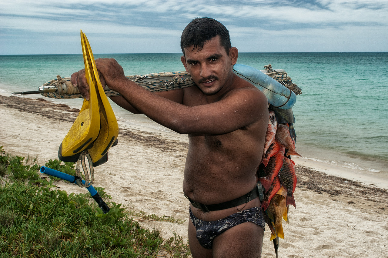 Fisherman, Cuba, 2006