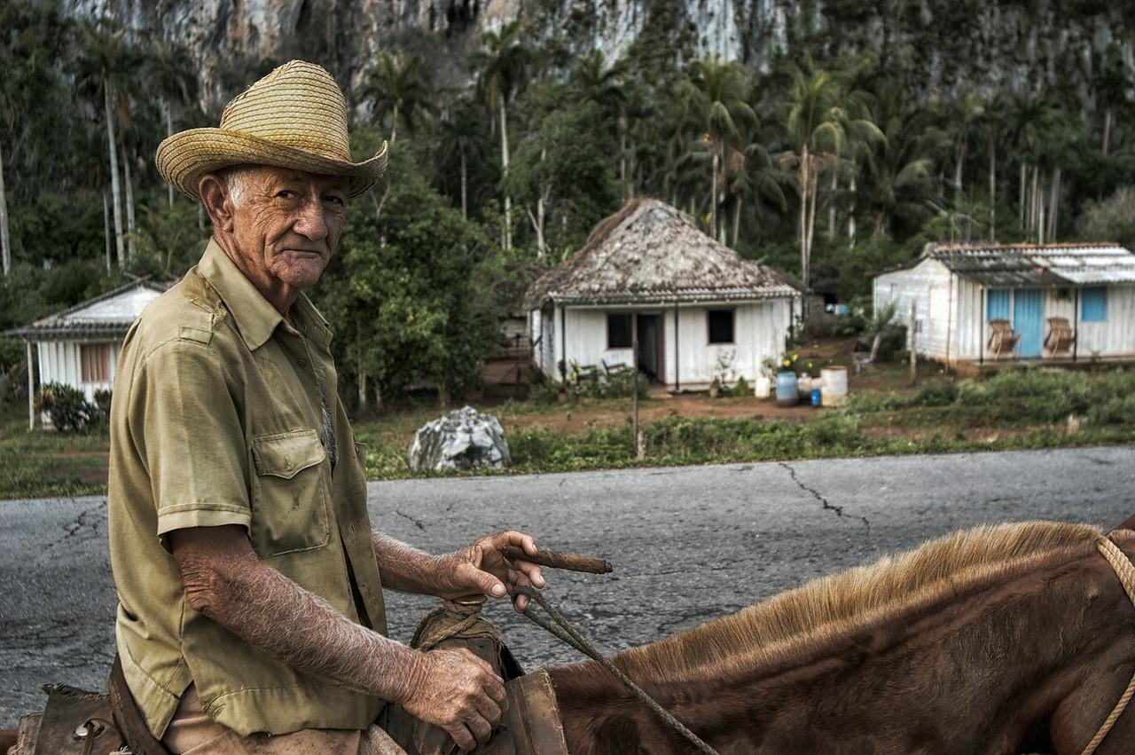 Farmer, Vinales, Cuba , 2006