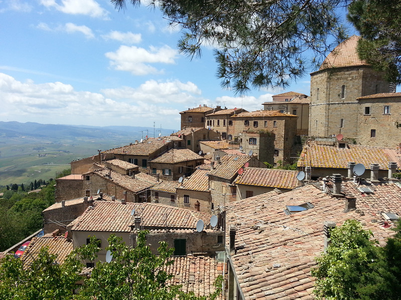 "The small village of Volterra, rooftops <a href=""https://www.motoquest.com/custom-tours/"">https://www.motoquest.com/custom-tours/</a>"