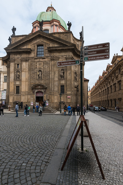 Saint Francis of Assisi Church, near Charles bridge, Prague, Czech Republic.