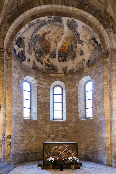 St. George's Basilica, Prague, Czech Republic. Is the oldest surviving church building within Prague Castle, Prague, Czech Republic. The basilica was founded by Vratislaus I of Bohemia in 920. It is dedicated to Saint George. The building now houses the 19th century Bohemian Art Collection of National Gallery in Prague. It also serves as a concert hall.