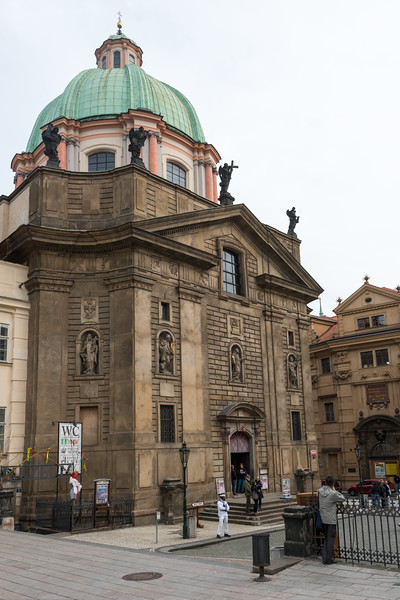 Saint Francis of Assisi Church, Prague, Czech Republic.
