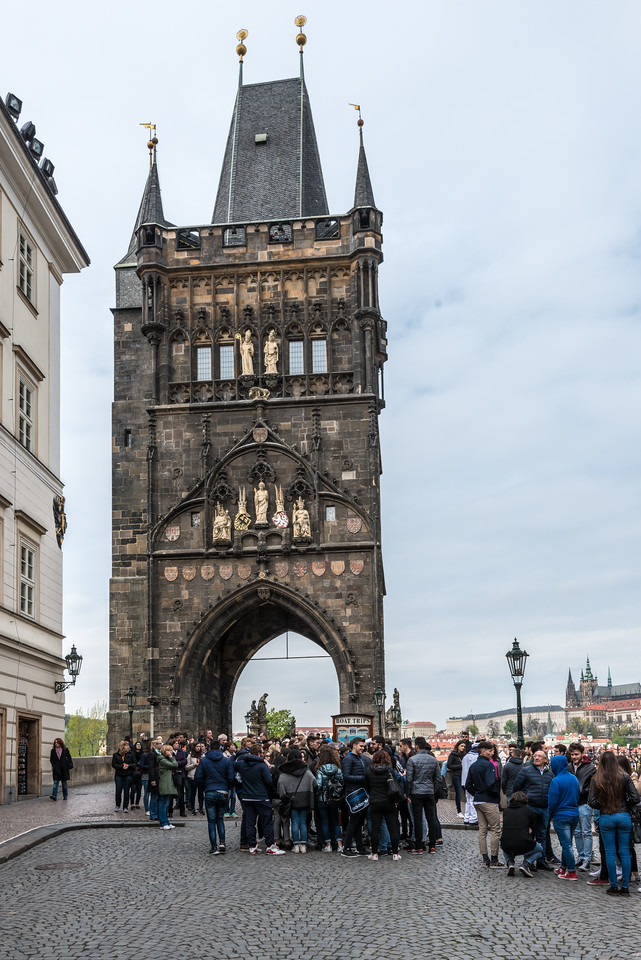 Old Town Bridge Tower, Prague, Czech Republic.