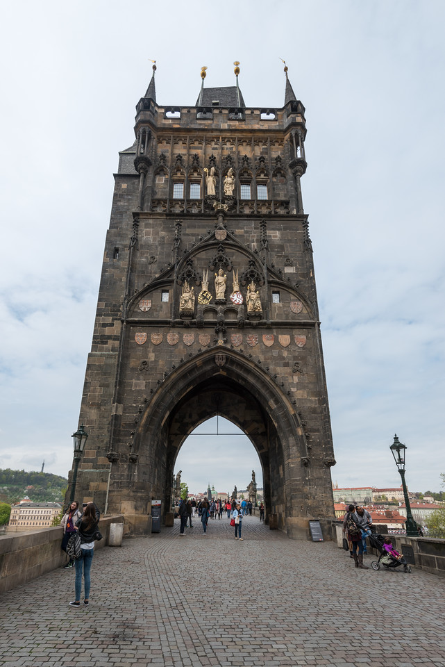 Old Town Bridge Tower at Charles bridge, Prague, Czech Republic.