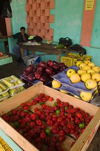 Dangriga Town market.