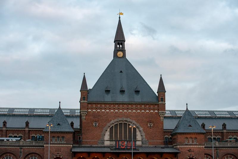 Copenhagen Central Station, Hovedbanegård, Copenhagen, København, Denmark