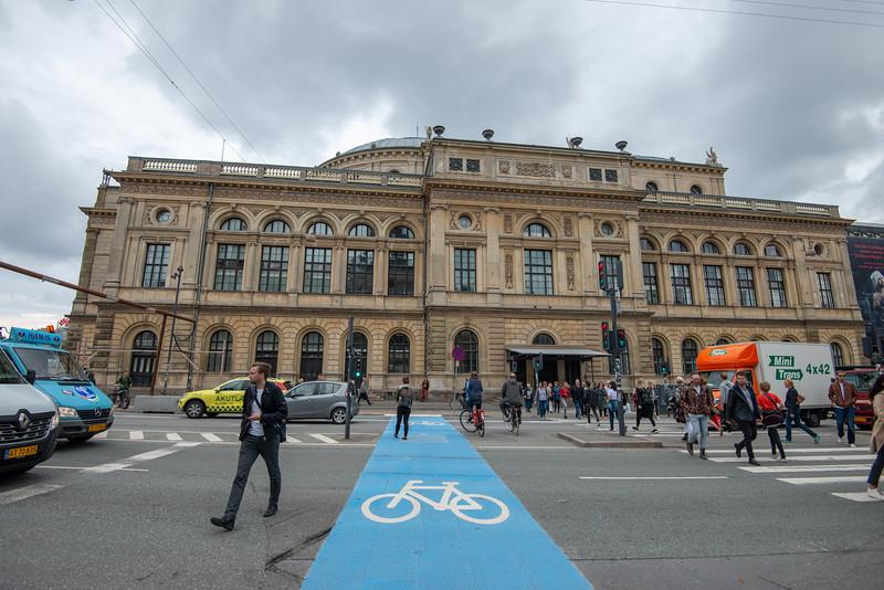 Royal Danish Theatre, Det Kongelige Teater, Kongens Nytorv, København, Denmark. Theater built in 1874 staging concerts & drama, home to Royal Danish Opera, Ballet & Orchestra.