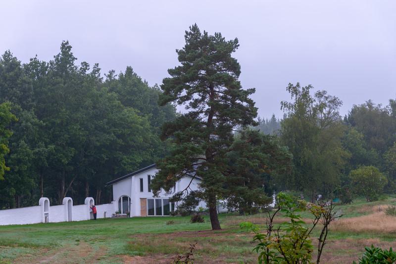 Meditation Hall, SRCM (Shri Ram Chandra Mission), Sahaj Marg, Vrads Sande Ashram, Vrads Sande Vej, Bryrup, Denmark.