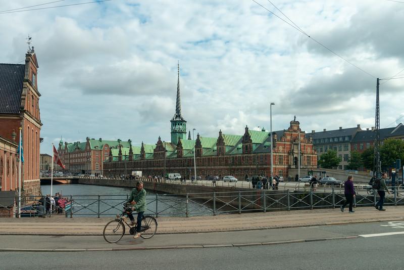 Christiansborg Palace, Copenhagen, København, Denmark. Royal palace has lavish reception rooms & stables, plus a 12th-century castle.