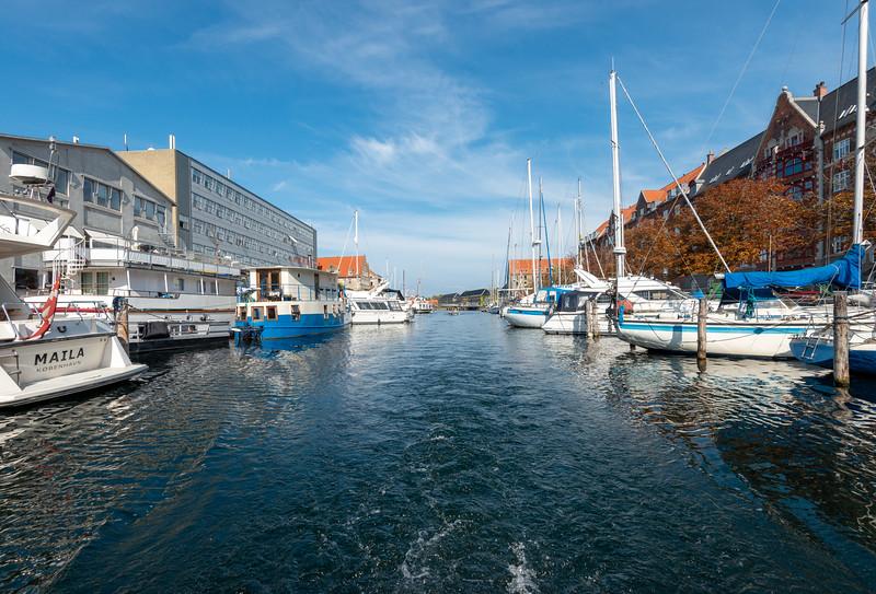 Kriminalforsorgen, Strandgade, Copenhagen Canal Tour. Copenhagen, København, Denmark.