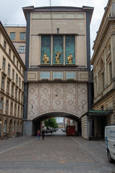 Near Royal Danish Theatre, Det Kongelige Teater, Kongens Nytorv, København, Copenhagen, Denmark