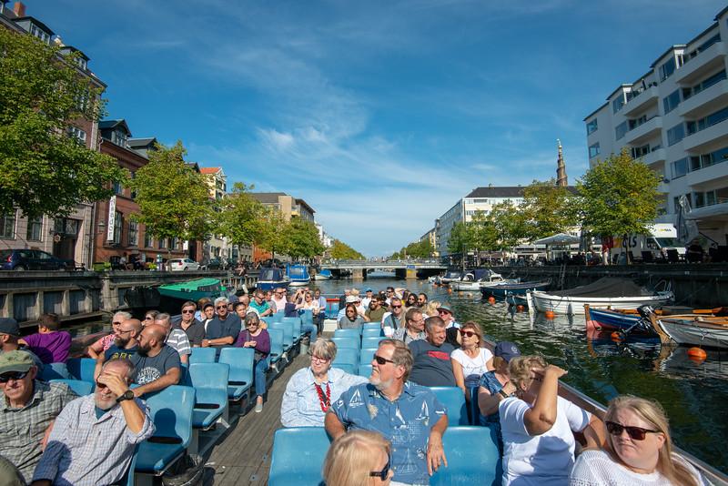 Kriminalforsorgen, Strandgade. Copenhagen Canal Tour. Copenhagen, København, Denmark.