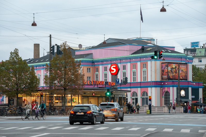 Palads Teatret, Nordisk Film Biografer Palads, Axeltorv, København, Copenhagen, Denmark.