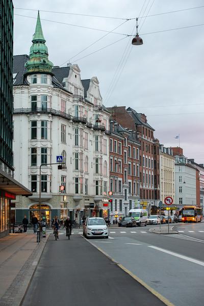 Near Palads Teatret, Nordisk Film Biografer Palads, Axeltorv, København, Copenhagen, Denmark.