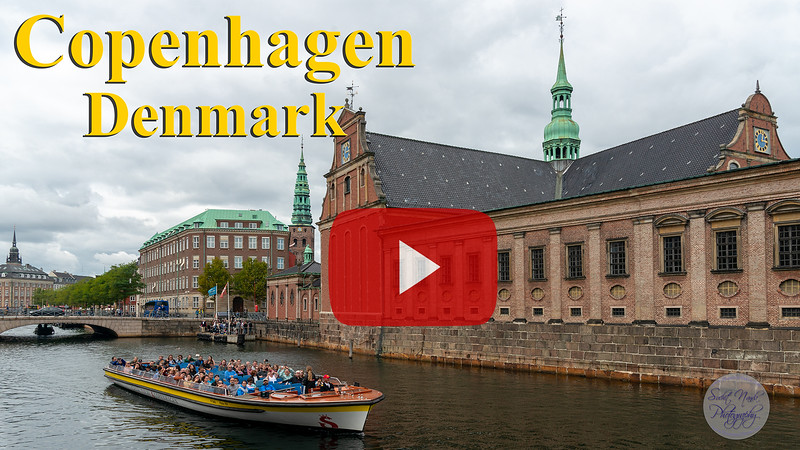 Short video clip of Copenhagen, Denmark.