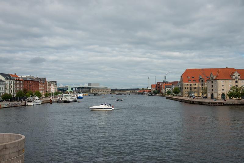 View from Knippels Bridge, Knippelsbro, Copenhagen, København, Denmark