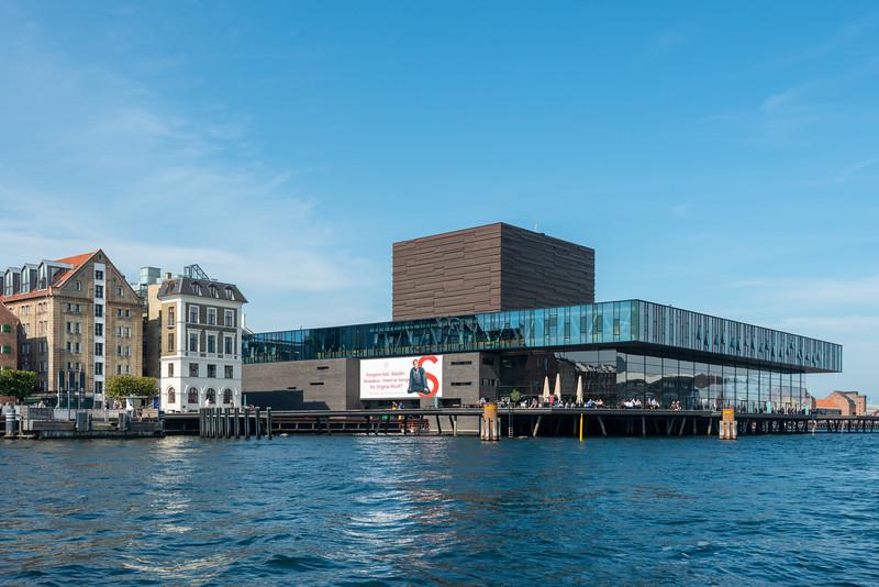 Royal Danish Playhouse, Skuespilhuset. Copenhagen, København, Denmark.