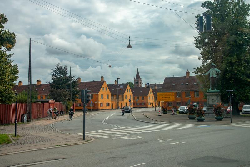 Suensonsgade (Øster Voldgade), Copenhagen, Denmark