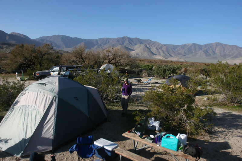 Vallacito camp ground, where the wind blows and the coyotes howl....