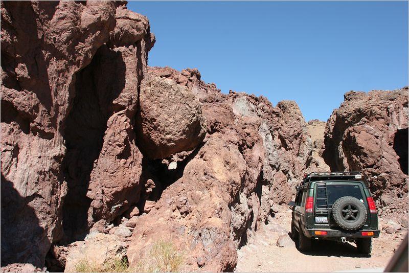 Entering Doran Canyon