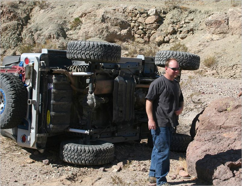 This Jeeper had a rough start to the day!