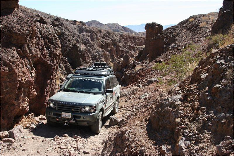 Adam Spiker along the Doran Canyon trail